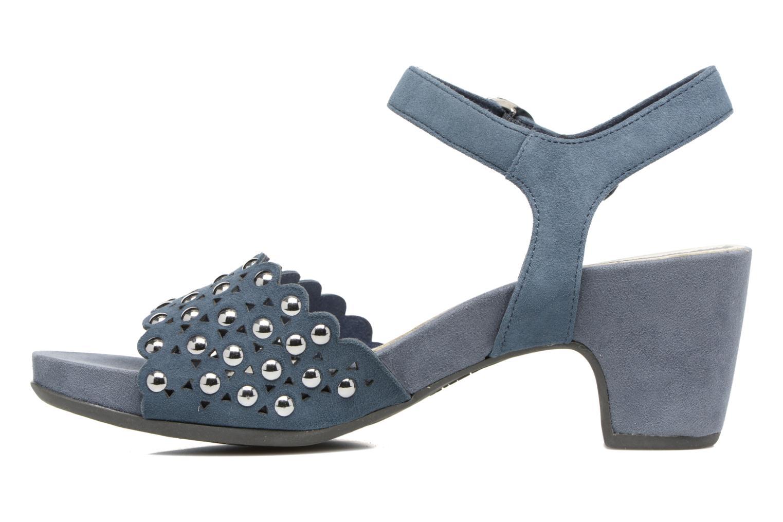 Sandales et nu-pieds Tamaris Olearia Bleu vue face
