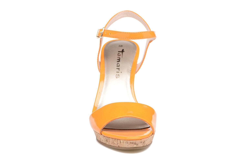 Sandals Tamaris Pellaea Orange model view