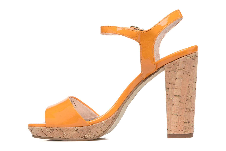 Sandals Tamaris Pellaea Orange front view