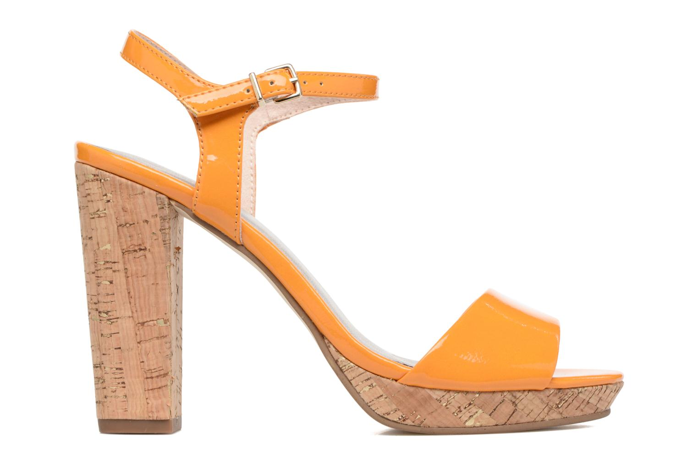Sandals Tamaris Pellaea Orange back view