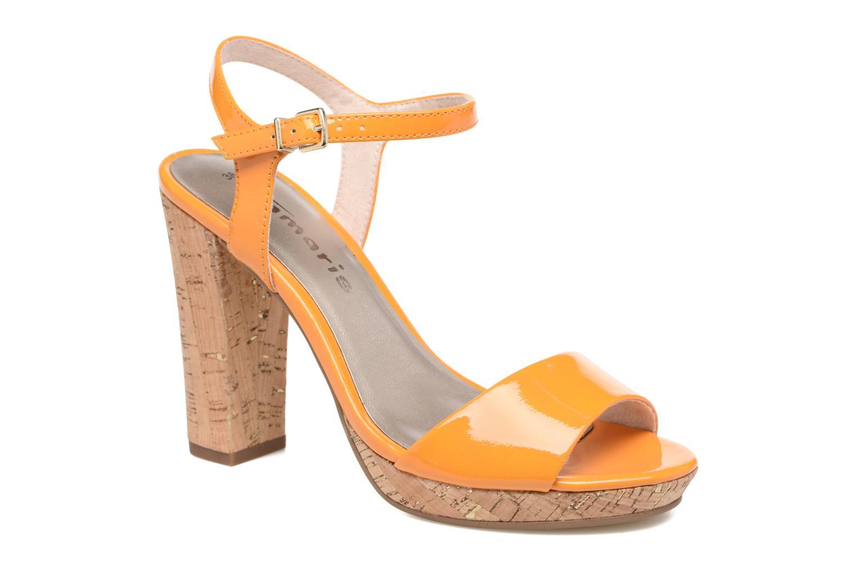 Grandes descuentos últimos zapatos Tamaris Pellaea (Naranja) - Sandalias Descuento