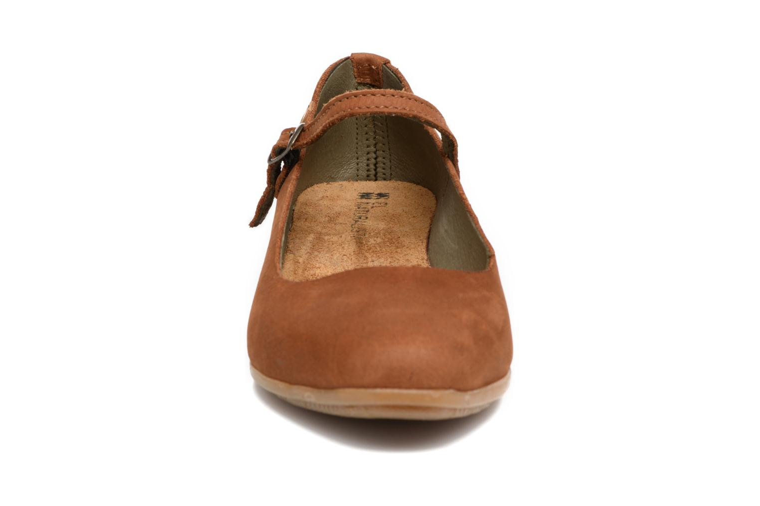 Ballet pumps El Naturalista Stella ND58 Brown model view