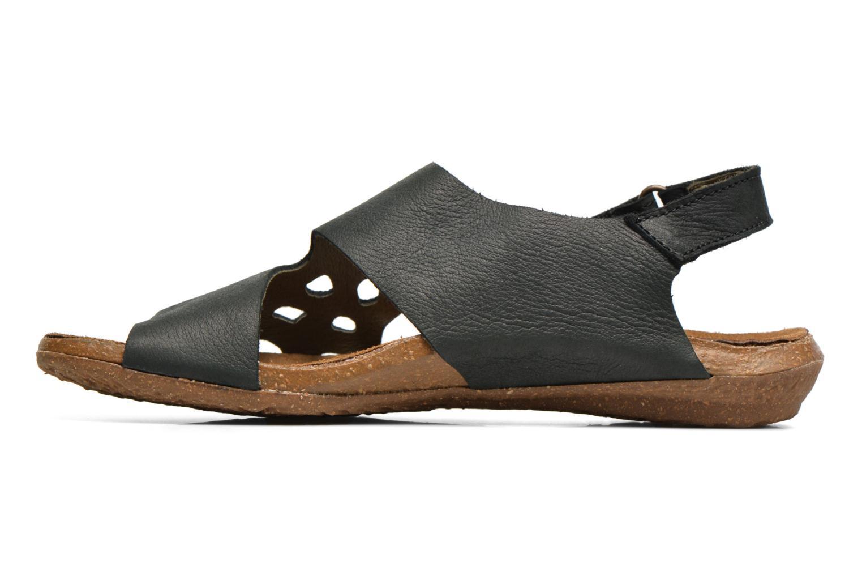 Sandales et nu-pieds El Naturalista Wakataua N5061 Noir vue face