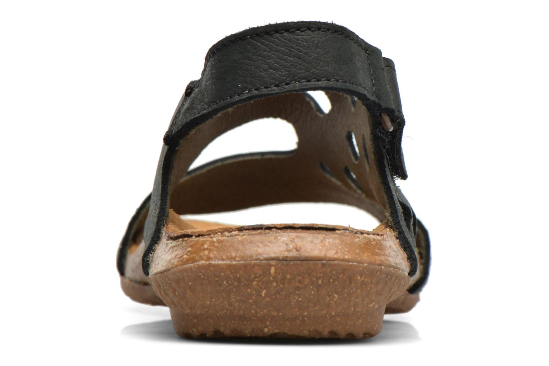 Sandales et nu-pieds El Naturalista Wakataua N5061 Noir vue droite