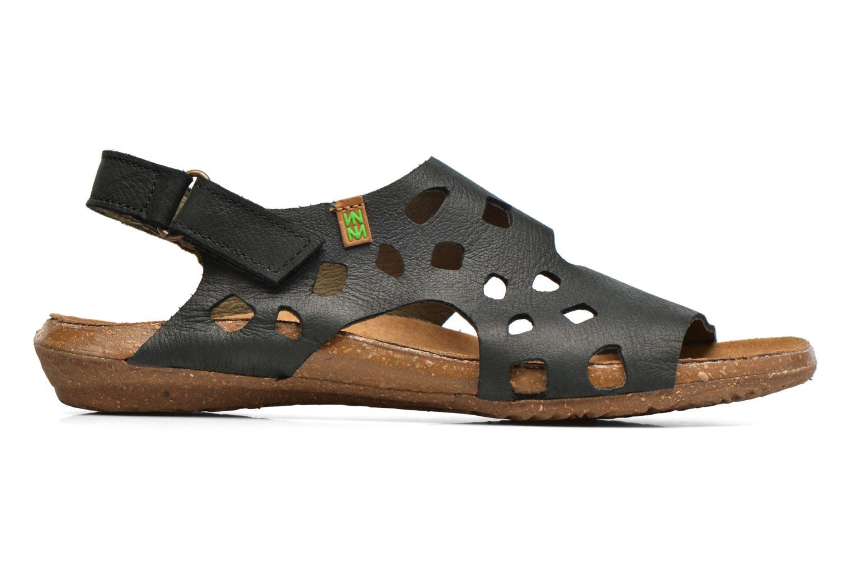 Sandales et nu-pieds El Naturalista Wakataua N5061 Noir vue derrière