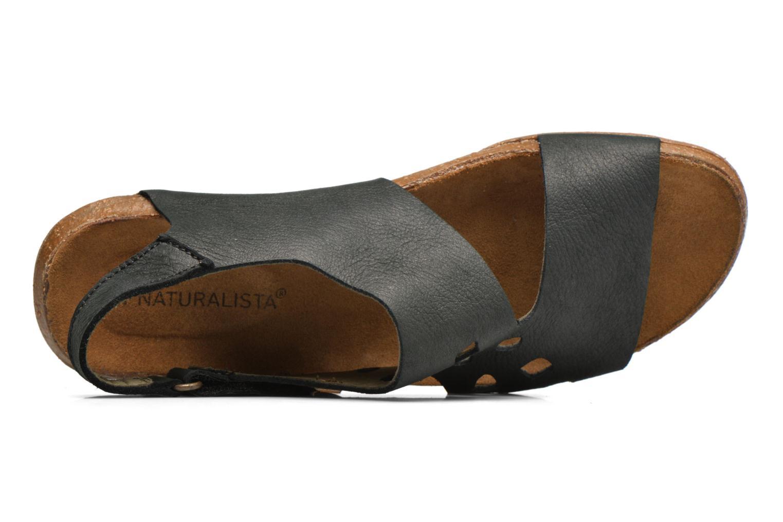 Sandales et nu-pieds El Naturalista Wakataua N5061 Noir vue gauche