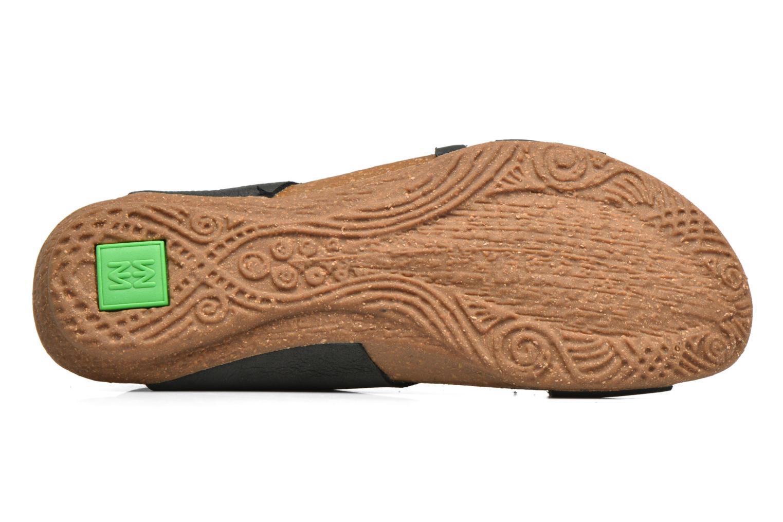 Sandales et nu-pieds El Naturalista Wakataua N5061 Noir vue haut