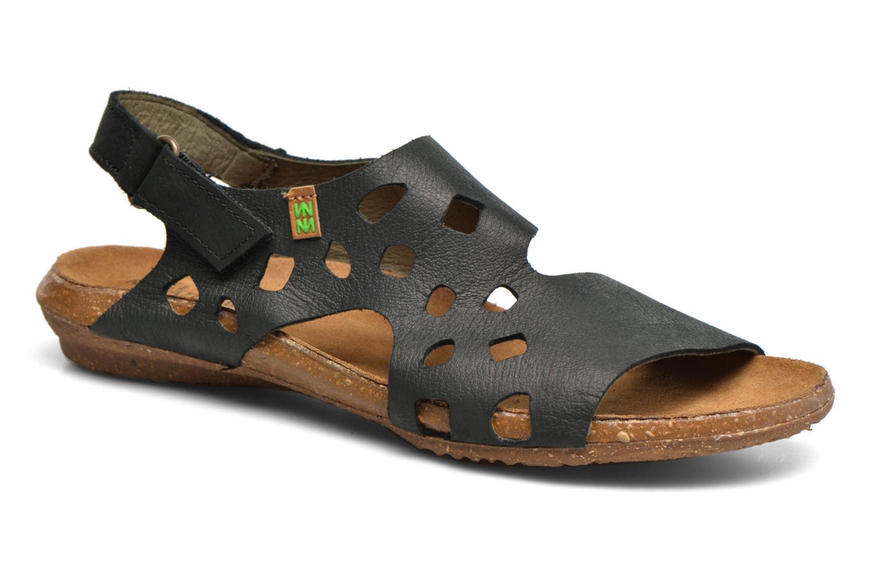 Sandales et nu-pieds El Naturalista Wakataua N5061 Noir vue détail/paire