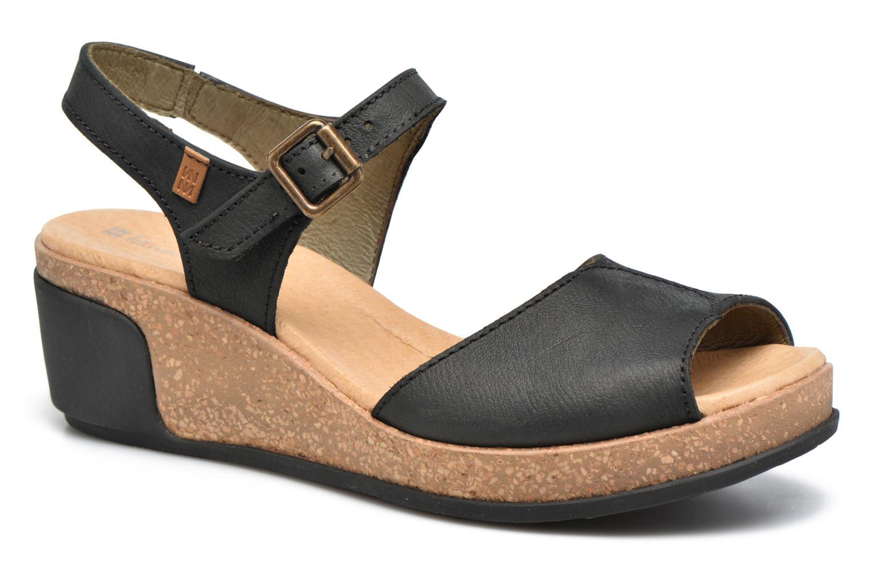 Zapatos promocionales El Naturalista Leaves N5000 (Negro) - Sandalias   Venta de liquidación de temporada