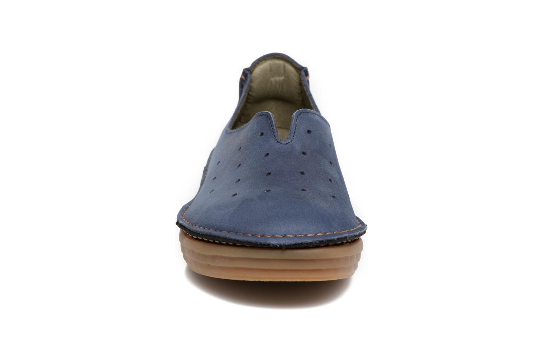 Mocassins El Naturalista Ricefield NF88 Bleu vue portées chaussures