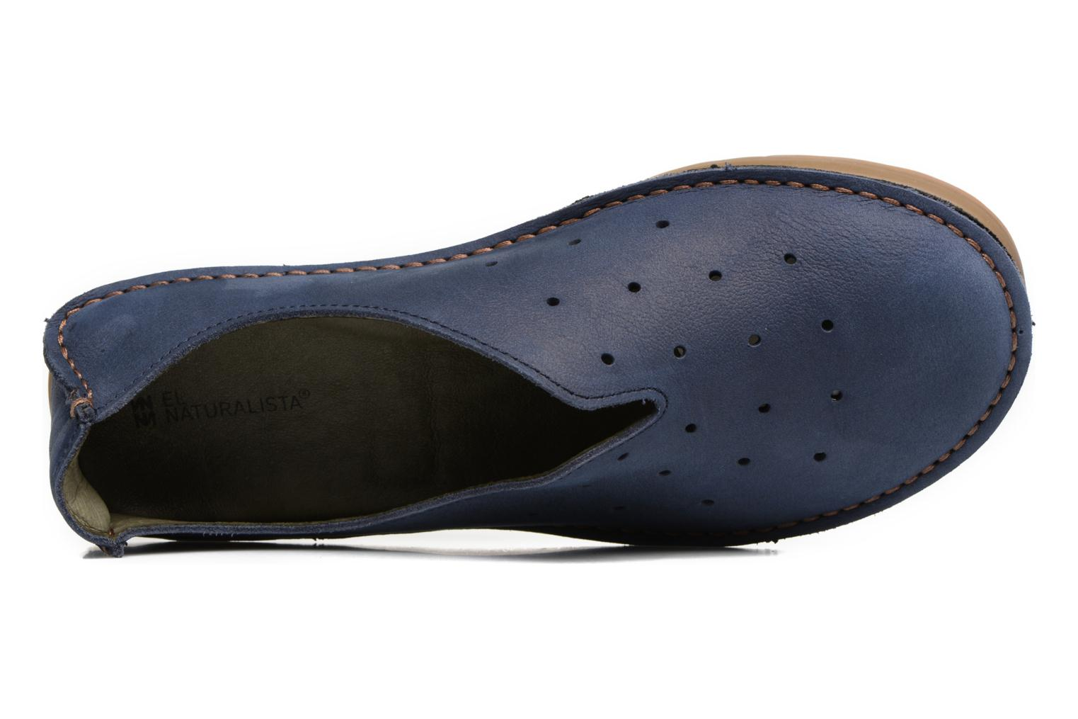 Loafers El Naturalista Ricefield NF88 Blue view from the left