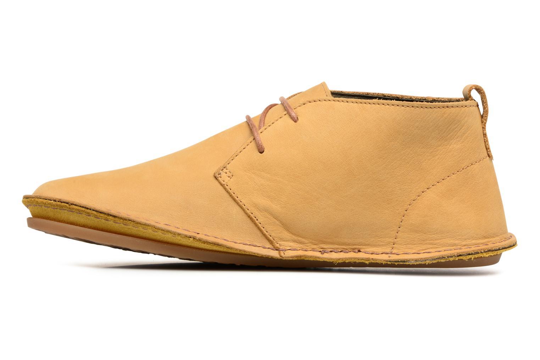 Chaussures à lacets El Naturalista Ibiza NF55 Jaune vue face