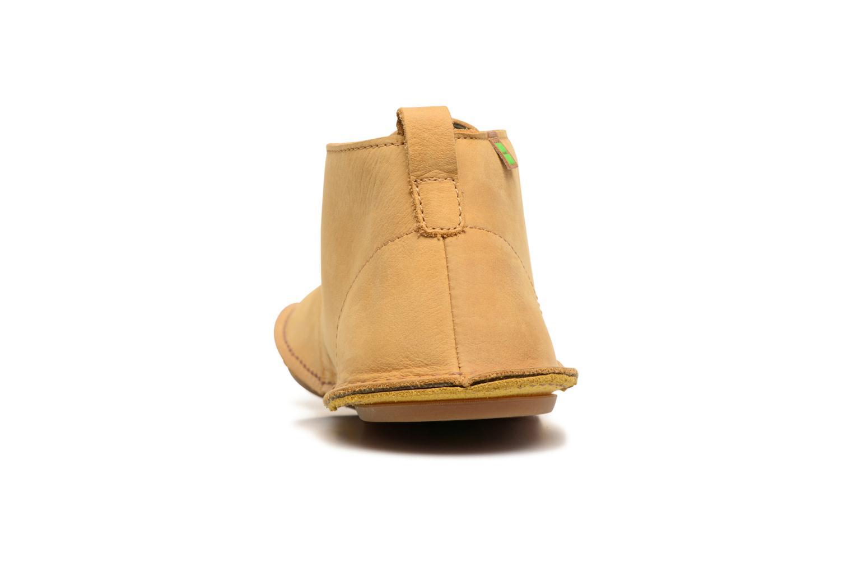 Chaussures à lacets El Naturalista Ibiza NF55 Jaune vue droite