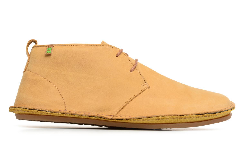 Chaussures à lacets El Naturalista Ibiza NF55 Jaune vue derrière