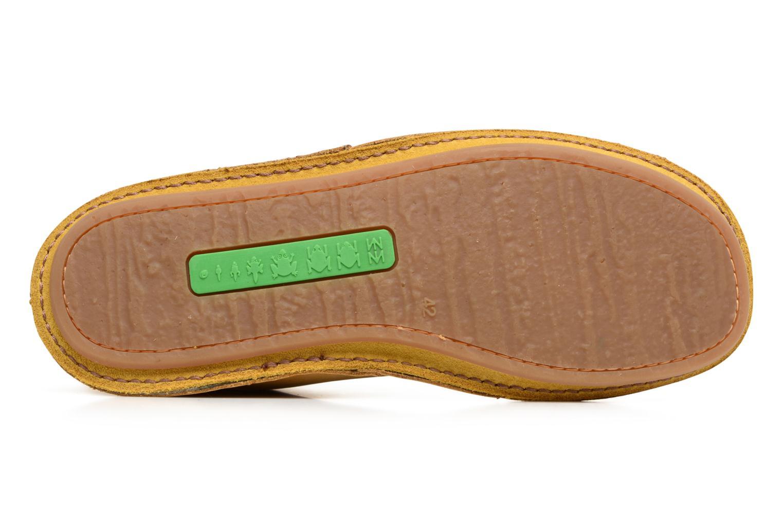 Chaussures à lacets El Naturalista Ibiza NF55 Jaune vue haut