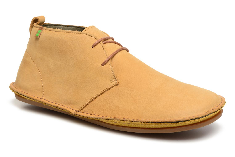 Chaussures à lacets El Naturalista Ibiza NF55 Jaune vue détail/paire