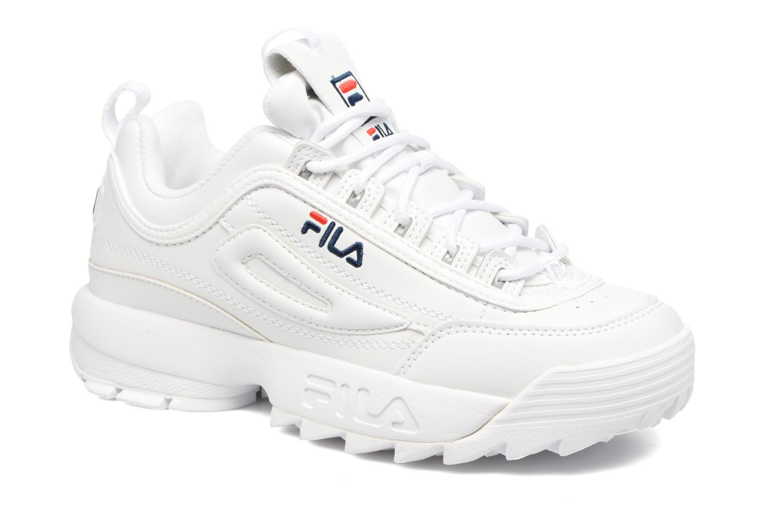 fila disruptor low donna bianche
