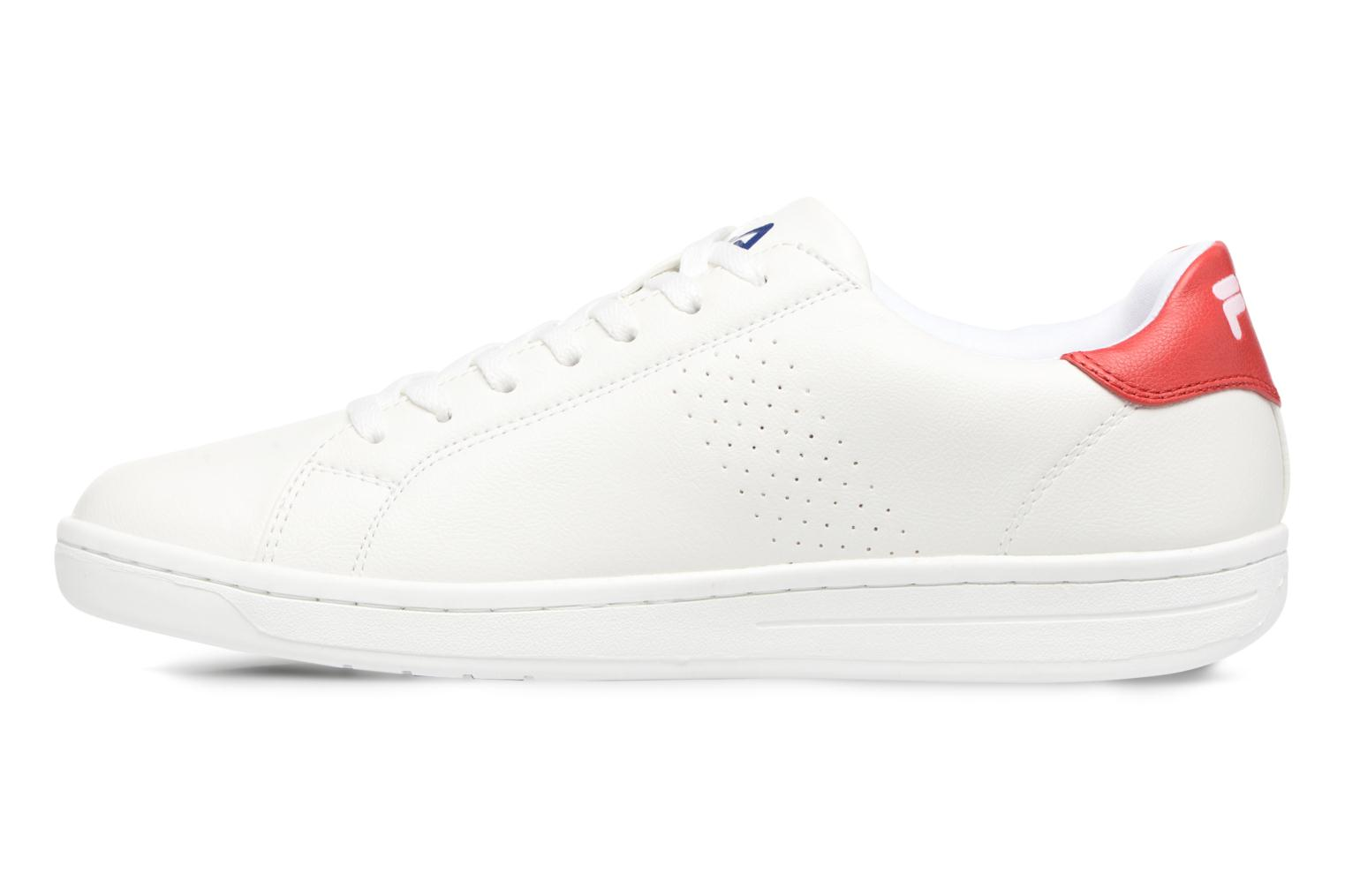 Crosscourt 2 Low White High Risk Red