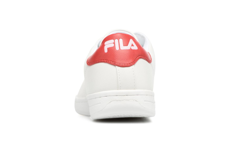 Baskets FILA Crosscourt 2 Low Blanc vue droite