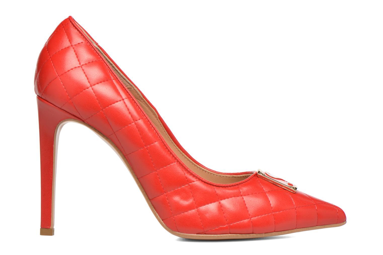 Escarpins Love Moschino Sperquilted Pump Rouge vue derrière