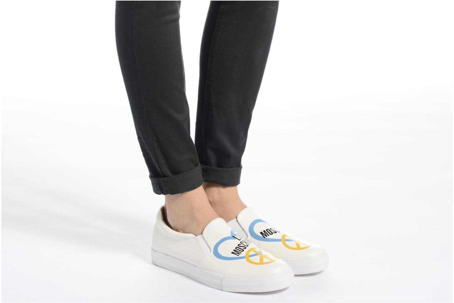 Sneakers Love Moschino Cut Out Slip-On Wit onder