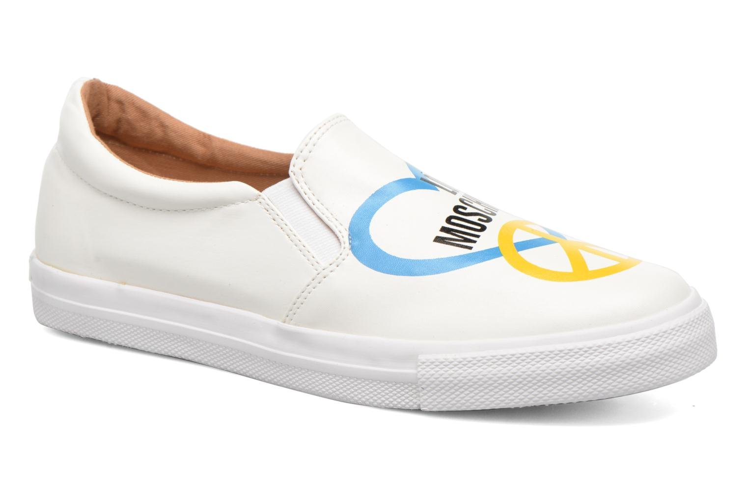 Sneakers Love Moschino Cut Out Slip-On Wit detail