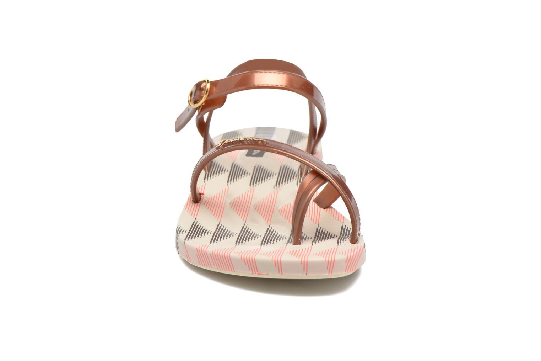 Sandales et nu-pieds Ipanema Fashion Sandal IV F Marron vue portées chaussures