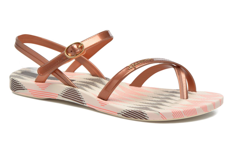 Sandales et nu-pieds Ipanema Fashion Sandal IV F Marron vue détail/paire