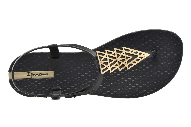 Charm IV Sandal Black/Black/Gold