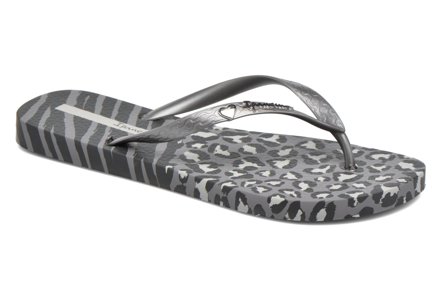 Tongs Ipanema Animal Print II Gris vue détail/paire