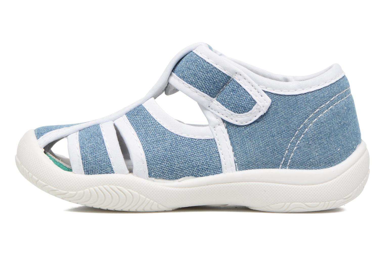 Sandales et nu-pieds Canguro New Born Lola Bleu vue face