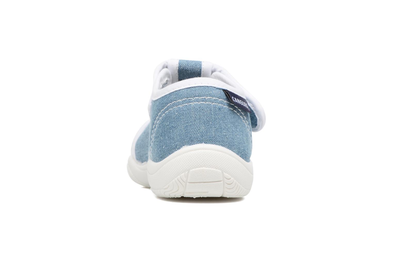 Sandales et nu-pieds Canguro New Born Lola Bleu vue droite