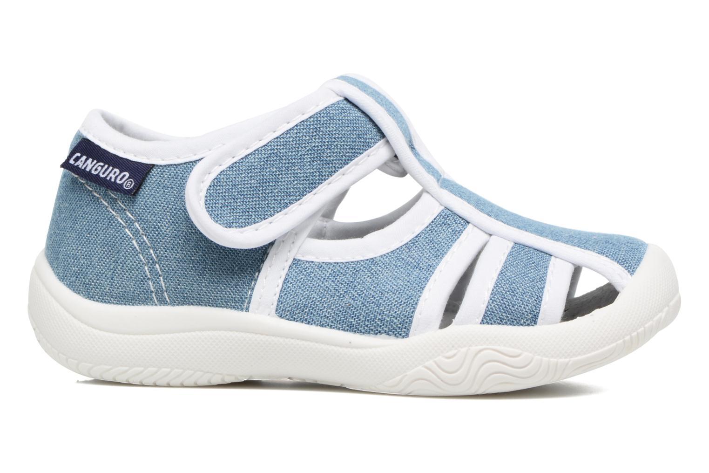 Sandales et nu-pieds Canguro New Born Lola Bleu vue derrière