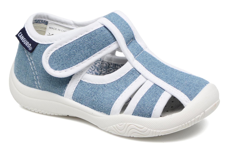 Sandales et nu-pieds Canguro New Born Lola Bleu vue détail/paire