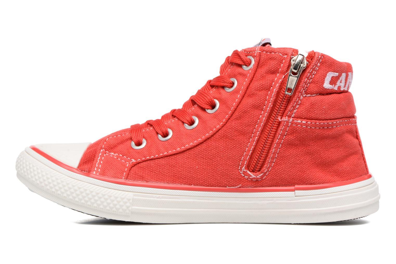 Baskets Canguro Midcut Shoes Tom Rouge vue face