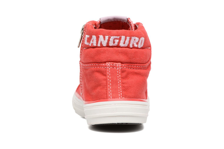 Baskets Canguro Midcut Shoes Tom Rouge vue droite
