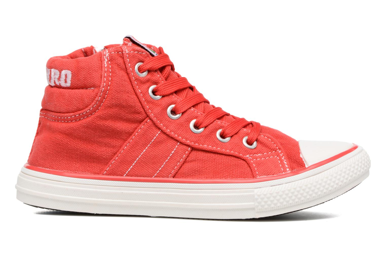 Baskets Canguro Midcut Shoes Tom Rouge vue derrière