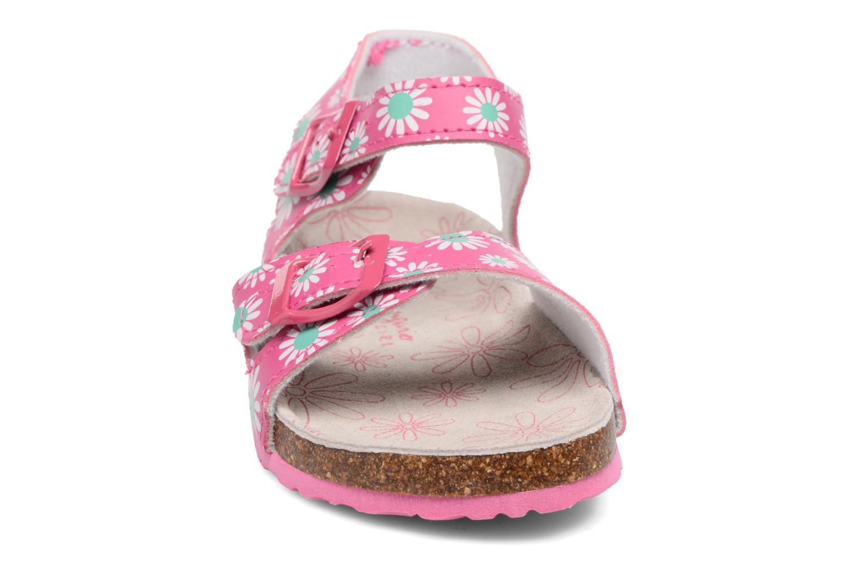 Sandales et nu-pieds Canguro Lili Sandals Rose vue portées chaussures