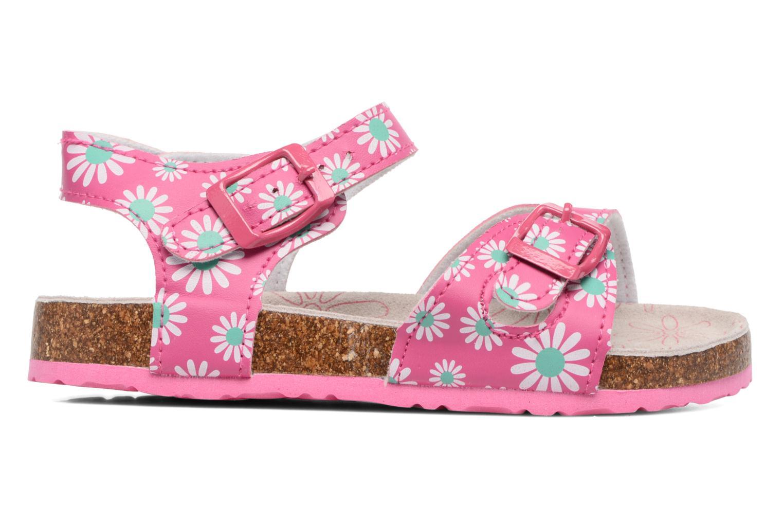 Sandales et nu-pieds Canguro Lili Sandals Rose vue derrière
