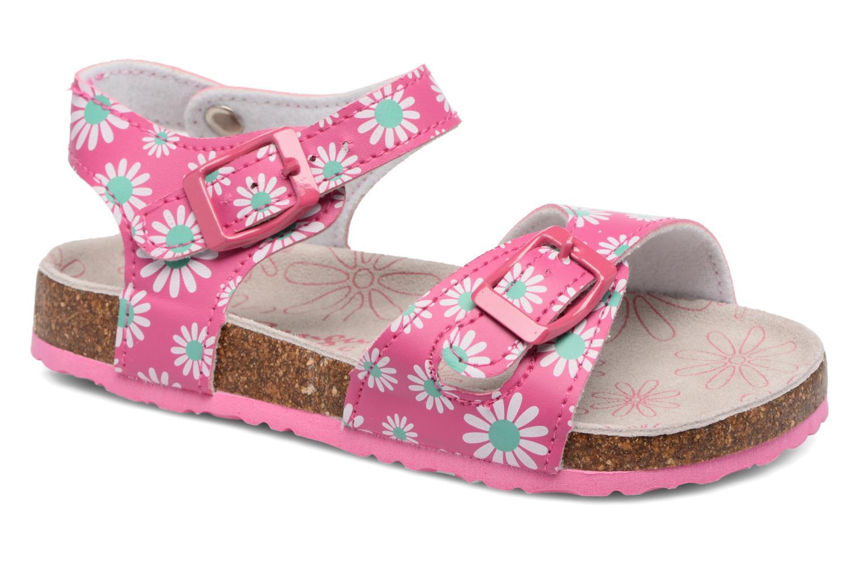 Sandales et nu-pieds Canguro Lili Sandals Rose vue détail/paire