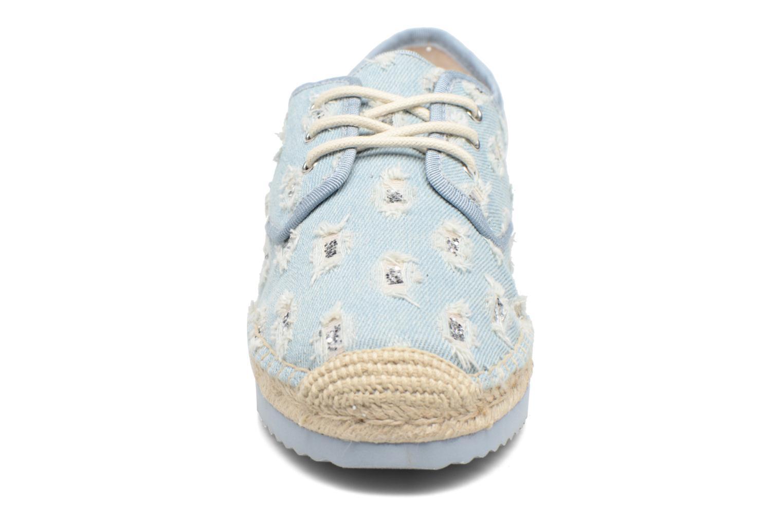 Espadrilles Michael Michael Kors Hastings Lace Up Bleu vue portées chaussures