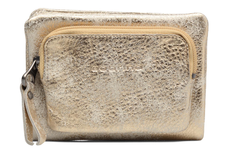 Kleine lederwaren Sabrina Ninon Goud en brons detail