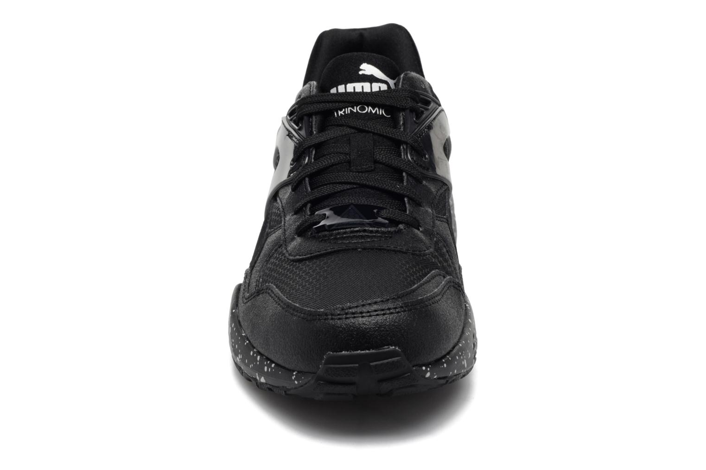 Baskets Puma R698 Speckle JR Noir vue portées chaussures
