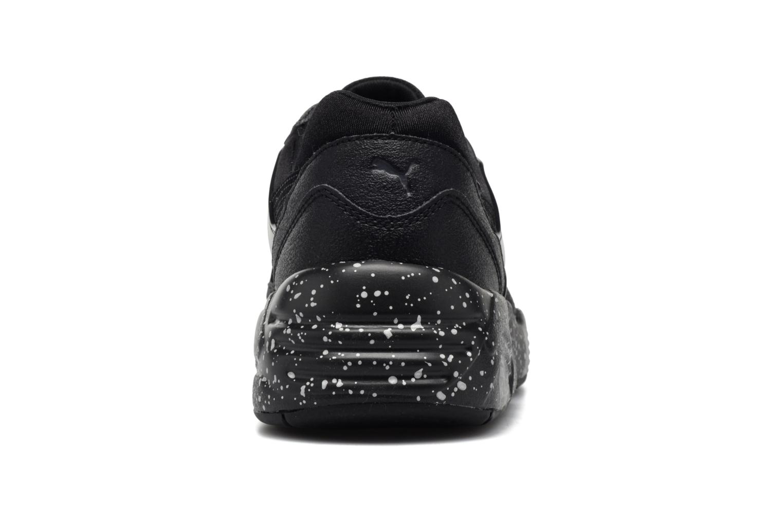 Baskets Puma R698 Speckle JR Noir vue droite