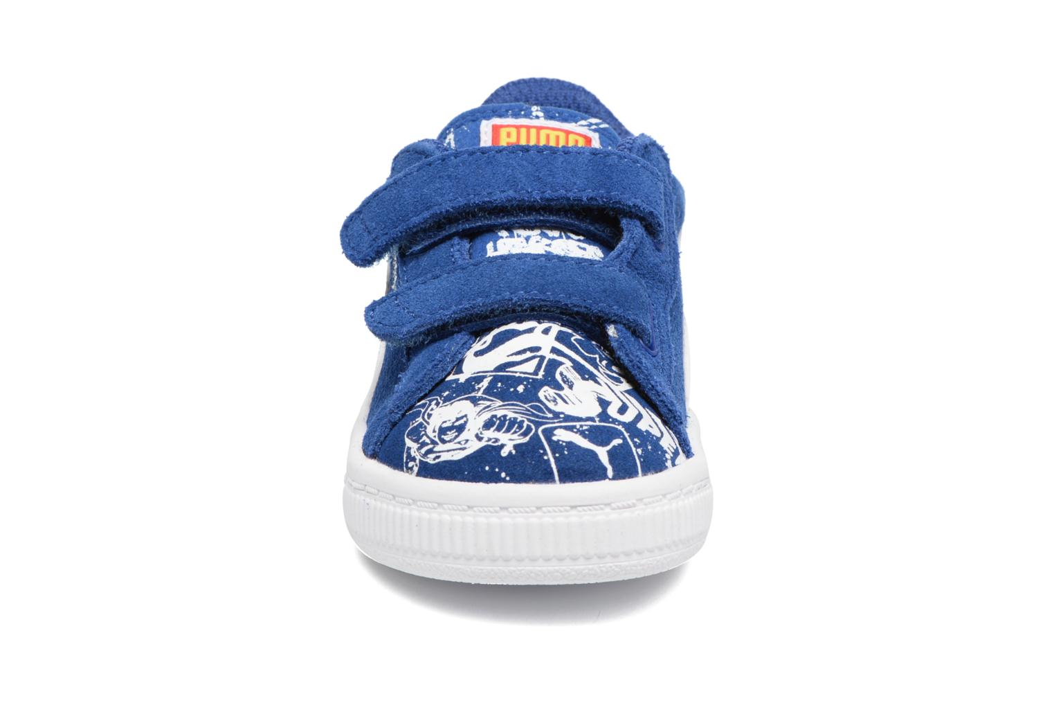 True Blue Puma Suede Superman Street V Inf (Bleu)