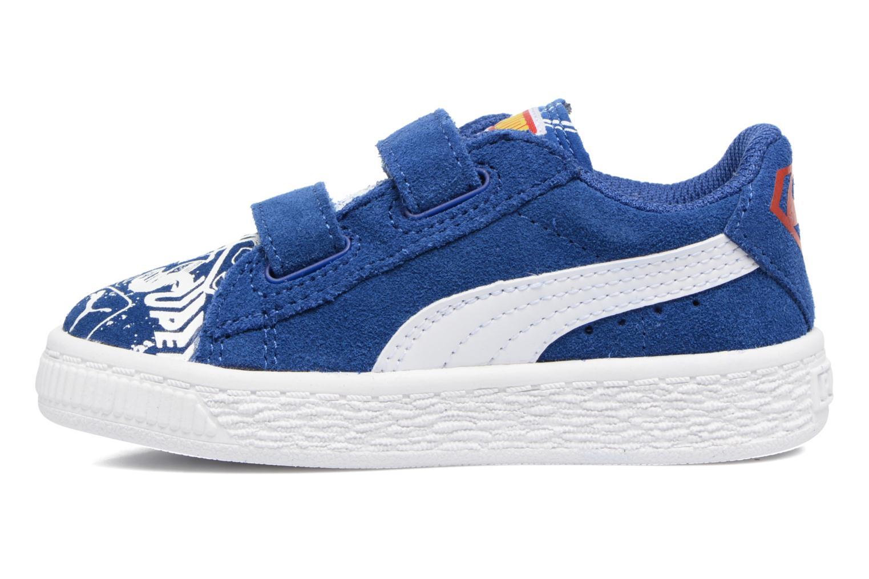 Sneakers Puma Suede Superman Street V Inf Blå se forfra