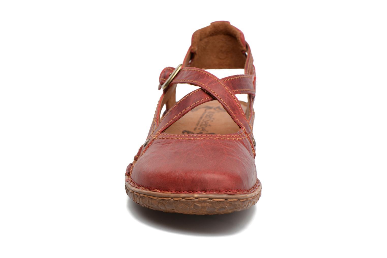Sandales et nu-pieds Josef Seibel Rosalie 13 Rouge vue portées chaussures
