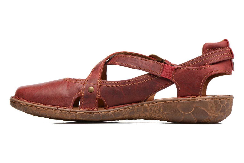 Sandales et nu-pieds Josef Seibel Rosalie 13 Rouge vue face