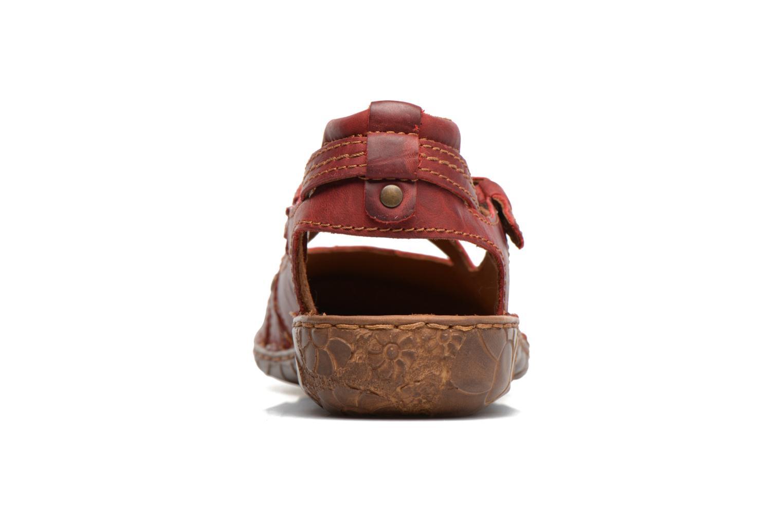 Sandales et nu-pieds Josef Seibel Rosalie 13 Rouge vue droite