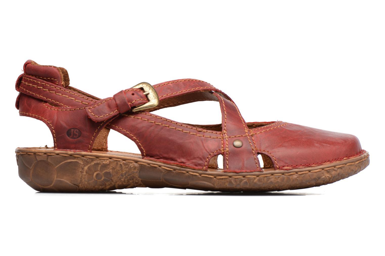 Sandales et nu-pieds Josef Seibel Rosalie 13 Rouge vue derrière
